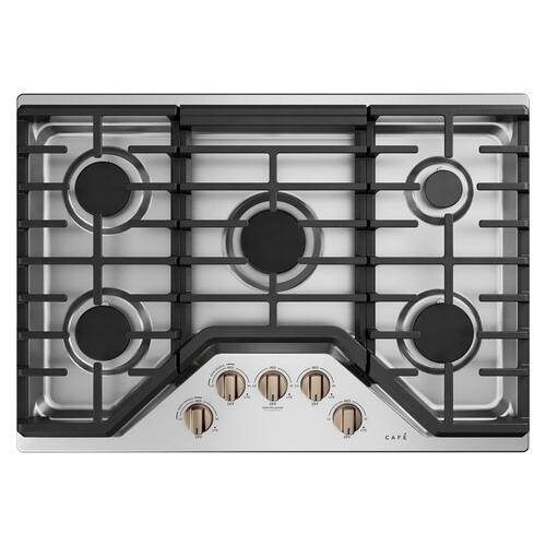 Café 5 Gas Cooktop Knobs - Brushed Bronze