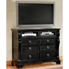 See Details - Six Drawer Entertainment Center