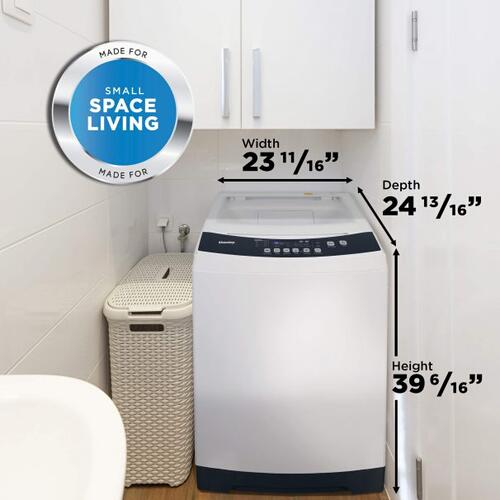 Danby Compact 3.0 Cu.Ft White Top Load Washing Machine