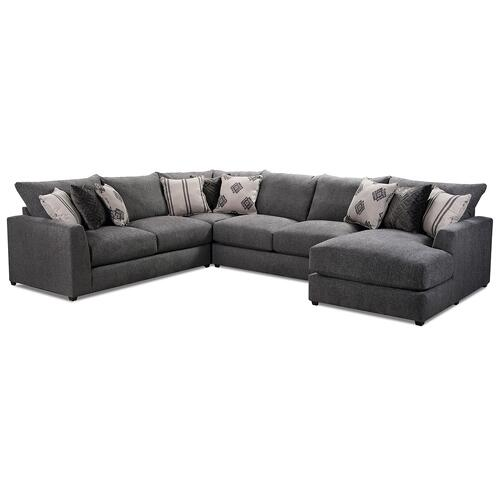 9918 Schafer Four Piece Sectional with Chaise