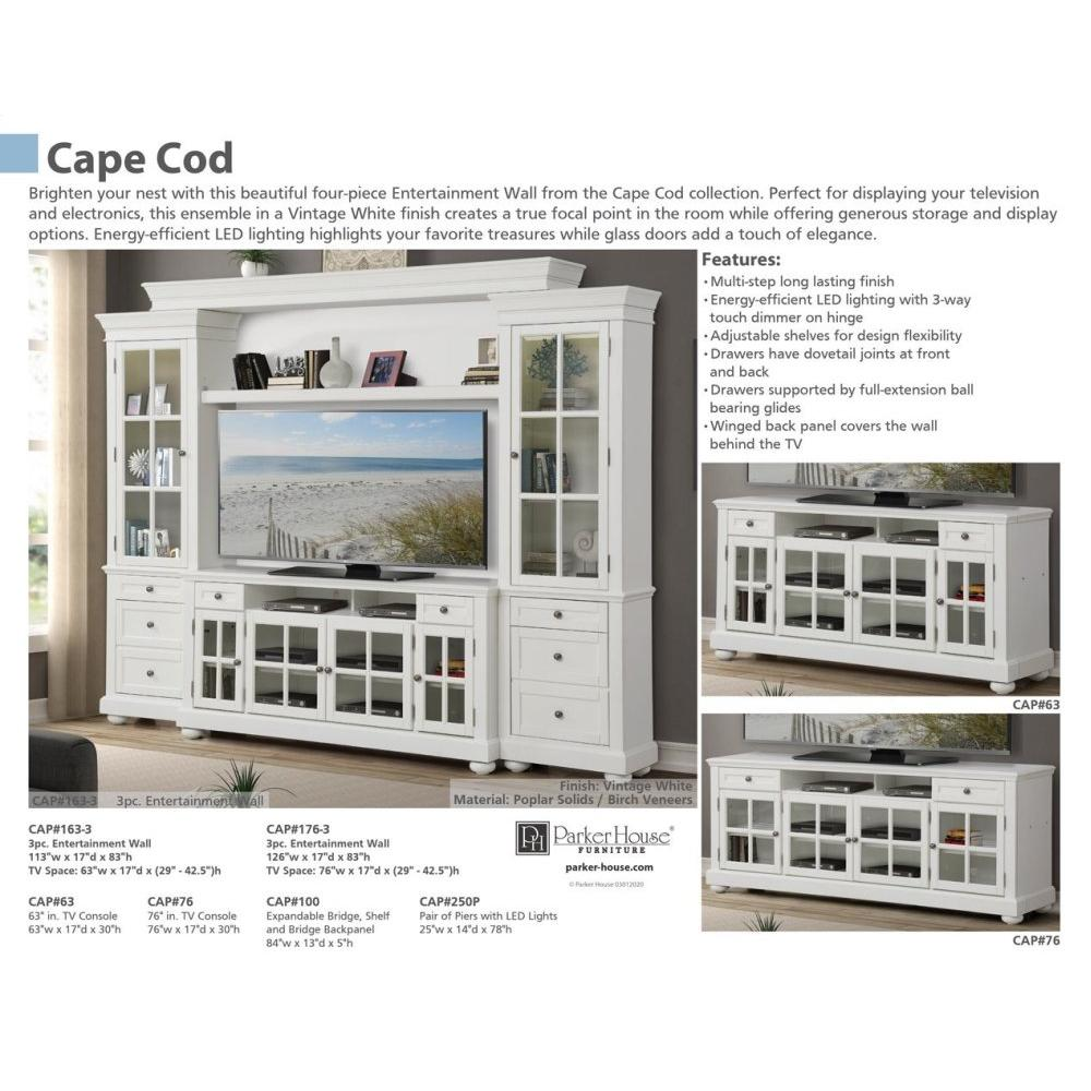 CAPE COD Bridge & Shelf