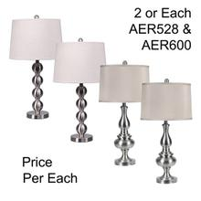 "29""TH METAL TABLE LAMP, 4PCS ASSORTED PACK, 2.96'"