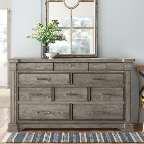 Pulaski Furniture - Madison Ridge 10 Drawer Dresser in Heritage Taupe