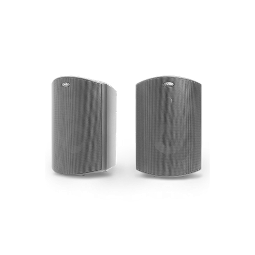 """ALL WEATHER OUTDOOR LOUDSPEAKERS WITH 5.25"""" DRIVERS, 1"""" TWEETERS AND POWER PORT BASS VENTING (PAIR) in Black"""