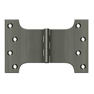 "4"" x 6"" Hinge - Antique Nickel"
