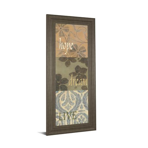 """Uplift I"" By Vision Studio Framed Print Wall Art"