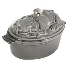Staub Cast Iron 1-qt Pig Cocotte
