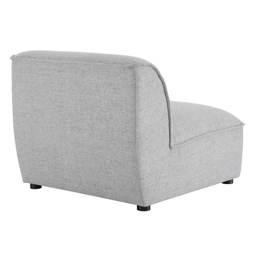 Comprise Armless Chair in Light Gray