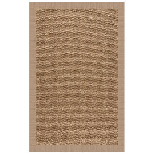 "Islamorada-Herringbone Dupione Sand - Rectangle - 24"" x 36"""