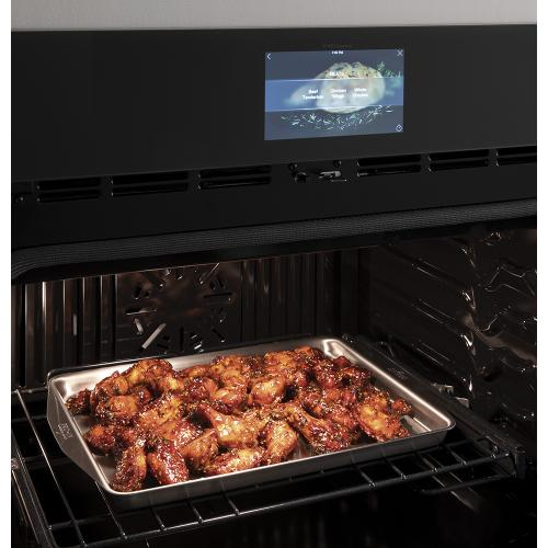 """GE Profile 30"""" Built-In Convection Single Wall Oven Stainless Steel - PTS9000SNSS"""