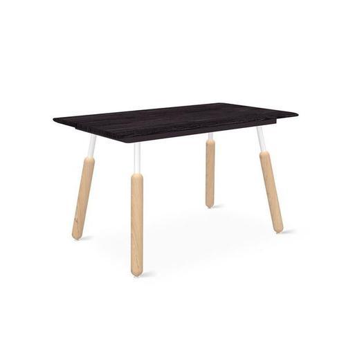 Envoy Desk 50 Inch / Black Ash/black / Dowel White