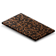 Product Image - 3 x 5 Floral Embossed Copper Sample (CS-F)