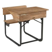DESK,SCHOOLHOUSE-SALVAGE/CARBO