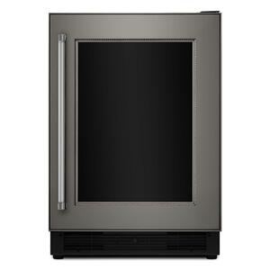 "KitchenAid24"" Panel Ready Beverage Center with Glass Door - Panel Ready PA"
