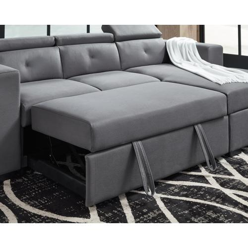 Signature Design By Ashley - Salado 2-piece Sleeper Sectional With Storage
