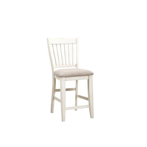 "Buchanan 24"" Bar Stool, Whitewash 1147-cpb315-s"