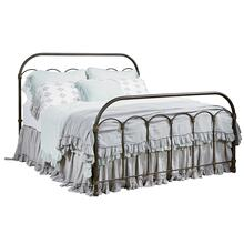 Blackened Bronze Colonnade Metal King Bed