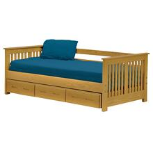 Shaker, Day Bed, queen