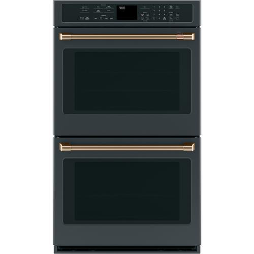 "Café 2 - 30"" Double Wall Oven Handles - Brushed Bronze"