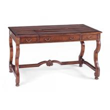 See Details - Country Style Walnut Extending Desk (Large)