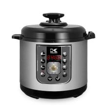 Kalorik 6.25 Quart Perfect Sear Pressure Cooker, Stainless Steel