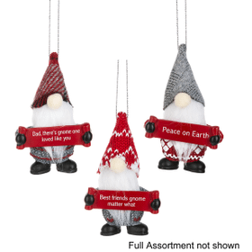 Gnome for the Holidays Ornaments Assortment without Display (48 pc. assortment)