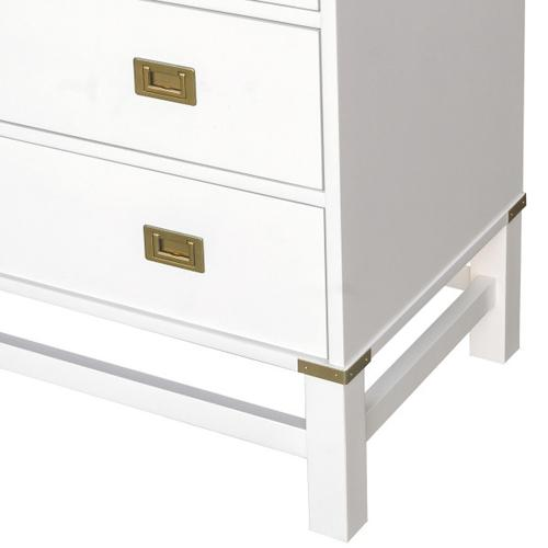 Glam Campaign 5 Drawer Dresser (Carton 1 of 2)