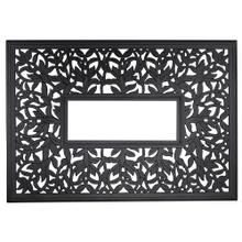 """See Details - Napa 42"""" x 60"""" Rectangular Fire Table Top with Burner Cover"""