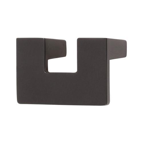U Turn Knob 1 1/4 Inch (c-c) - Modern Bronze