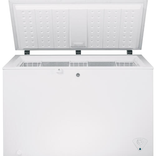 GE 10.6 Cu. Ft. Manual Defrost Chest Freezer White FCM11PHWW