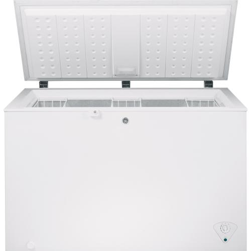 GE Appliances Canada - GE 10.6 Cu. Ft. Manual Defrost Chest Freezer White FCM11PHWW