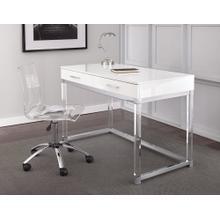 See Details - Everett Desk, White