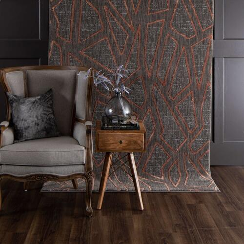 "Soiree Gibson Smokey Grey 2' 4""x7' 10"" Runner"