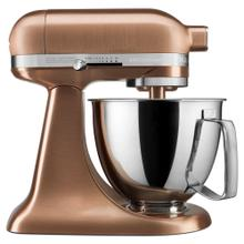 Artisan® Mini Copper Clad 3.5 Quart Tilt-Head Stand Mixer - Satin Copper
