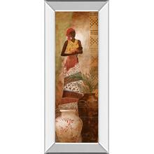 """Tribal Mother I"" Mirror Framed Print Wall Art"