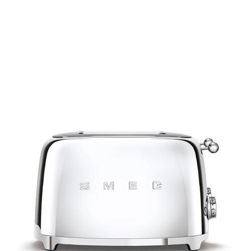 4x4 Slice Toaster, Chrome
