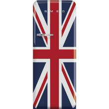 "24"" retro-style fridge, Union Jack, Right-hand hinge"