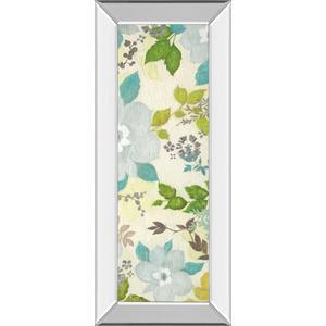 """Fragrant Garden Il"" By Tava Studios Mirror Framed Print Wall Art"