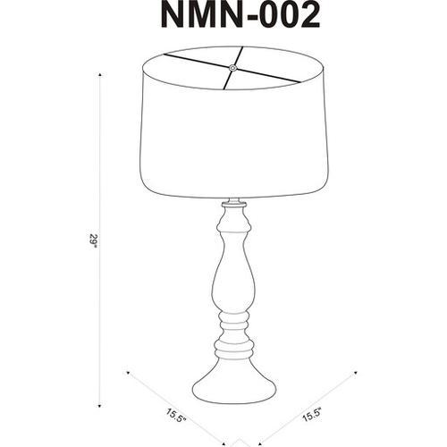 """Newman NMN-002 29""""H x 15.5""""W x 15.5""""D"""