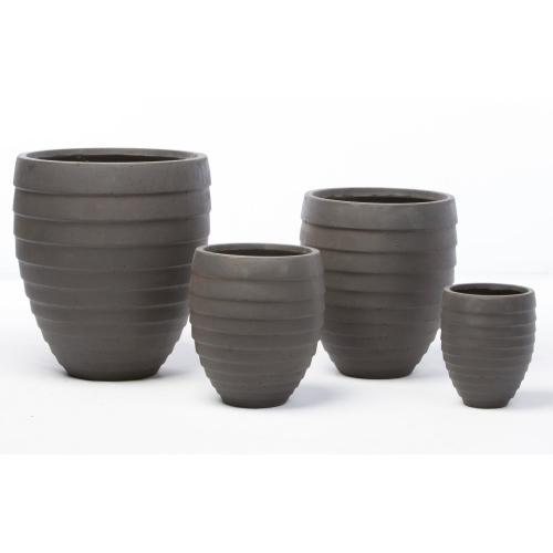Round Jupon Planter - Set of 4