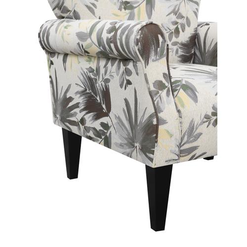 Lydia Accent Chair, Sketch Floral U3600-05-53