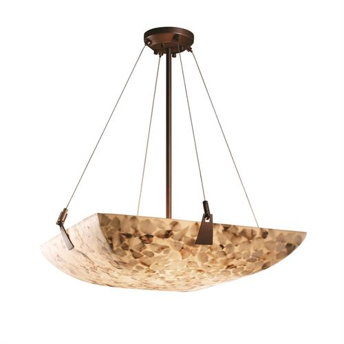 "18"" Pendant Bowl w/ Tapered Clips"