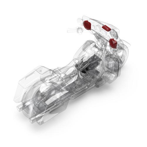 Rockford Fosgate - 2014+ Harley-Davidson® Road Glide® & Street Glide® 2-Speaker & Amp Kit
