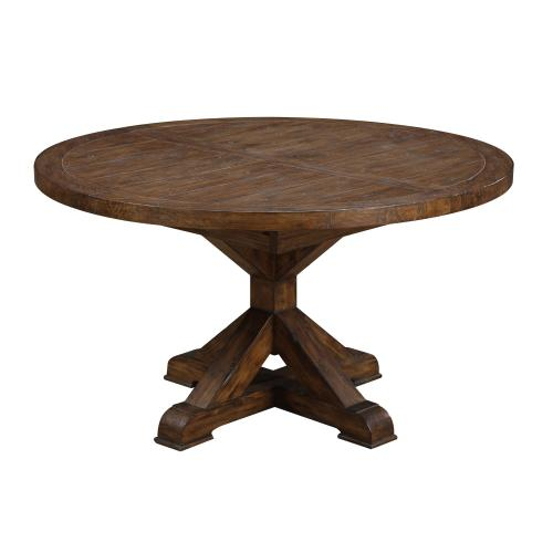 Chambers Creek Round Dining Table Top W/removable Leaf
