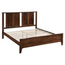See Details - Portland King Bed Walnut