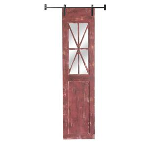 See Details - Red Rustic