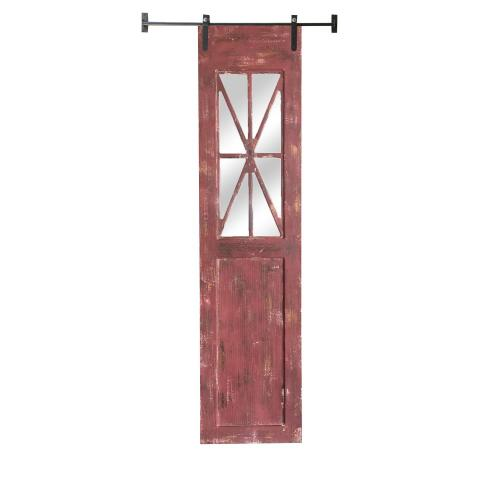 Crestview Collections - Red Rustic