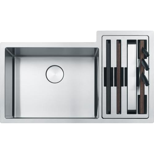 Franke - Culinary Center CUX16021-W Stainless Steel