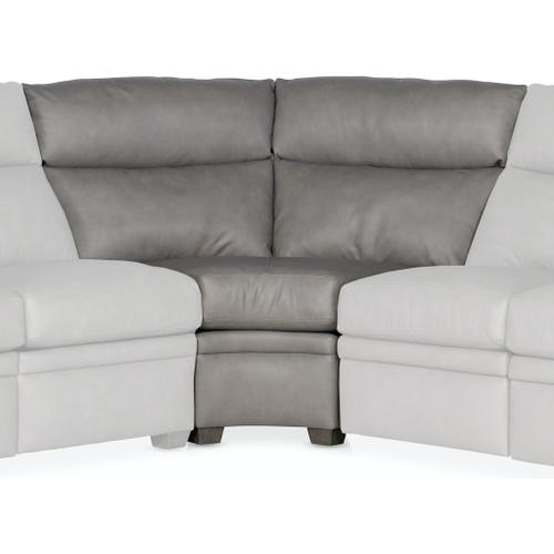 Bradington Young - Bradington Young Sectionals 202 Reece Reclining Sectional with Two-Piece Back