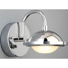 LED Wall Sconce, Chrome, Type LED 8w*5